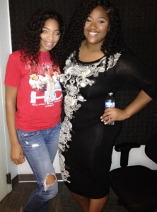 Britt and Jazmine Sullivan