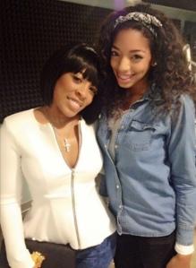 K. Michelle with Britt