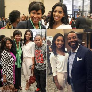 #IWishUKnew  Ebony McMorris, Muriel Bowser, Britt Waters, DJ Flava,  Joe Clair
