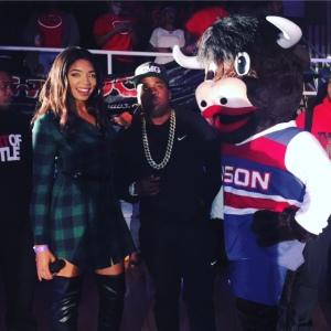 Britt Waters hosting HU's Bison Madness with Yo Gotti