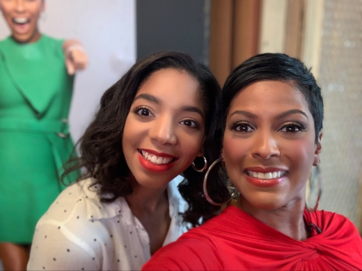 Britt waters with tamron Hall